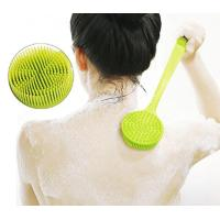Buy cheap Long handled silicone body brush from wholesalers