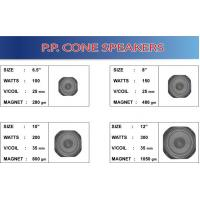 Cheap speakers series P. P Cone Speakers for sale