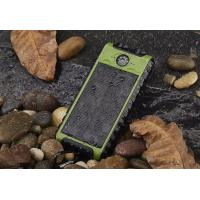 Buy cheap Solar power bank with double LED /compass from wholesalers