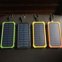 Best Solar power bank with led wholesale
