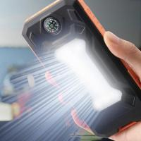 Best Solar power bank with Flashlight /compass wholesale