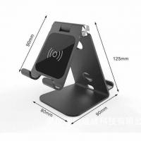 Buy cheap Wireless aluminium phone holder with charger from wholesalers