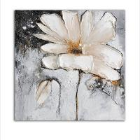 Best White Flowers Oil Painting for Home Decor wholesale
