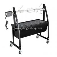 China Deluxe BBQ Spit Roaster With Rotisserie Motor on sale