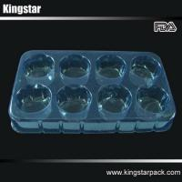 Buy cheap Food Containers & Trays Vacuum formed plastic tray for super market, cakes, eggs, pills, from wholesalers