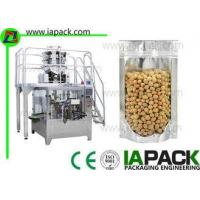 China Automatic Rotary Premade Pouch Packing Machine For Preformed Pouch Fill Seal Equipment on sale