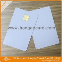 Best Contact IC Card FM4442 blank white card wholesale