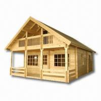 Quality DIY Wooden House Made of 7or 10cm Pine Wood wholesale